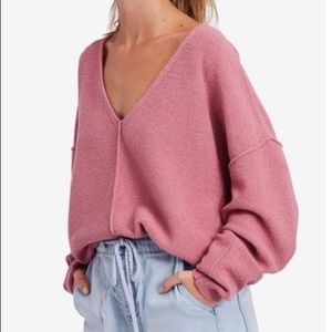 Free People | Take Me Places Pink Sweater